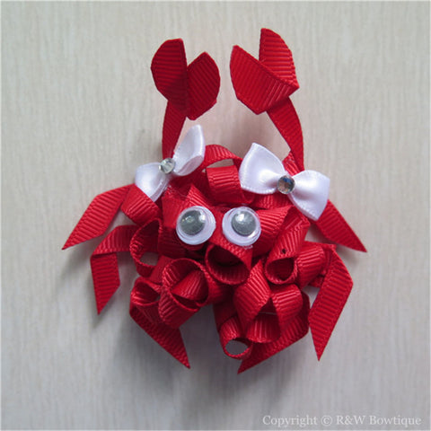 Crab #B Sculptured Hair Clip