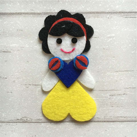 - Felt Princess Snow White
