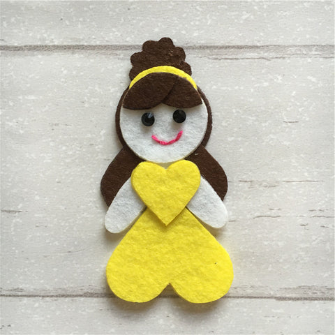 - Felt Princess Belle