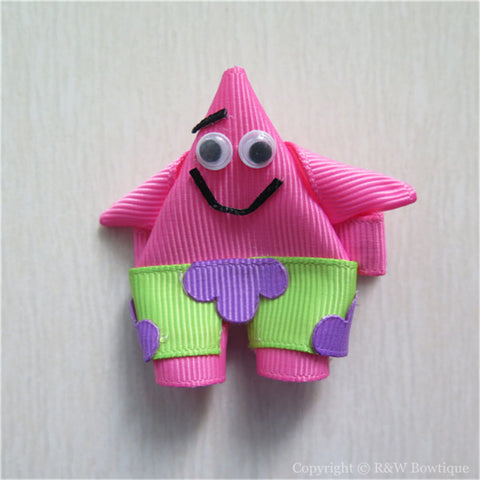 Patrick Starfish Sculptured Hair Clip