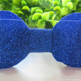 Royal Blue Shimmery Oversize Hair Bow