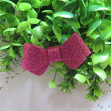 Azalea Glitter Felt Mini Hair Bow