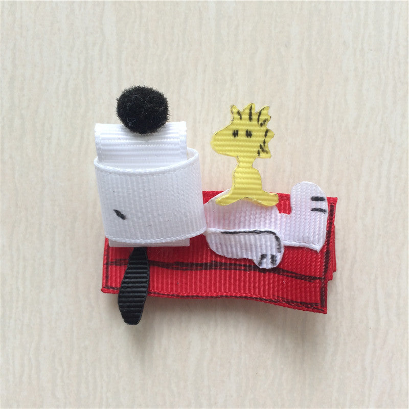 Snoopy #A Sculptured Hair Clip