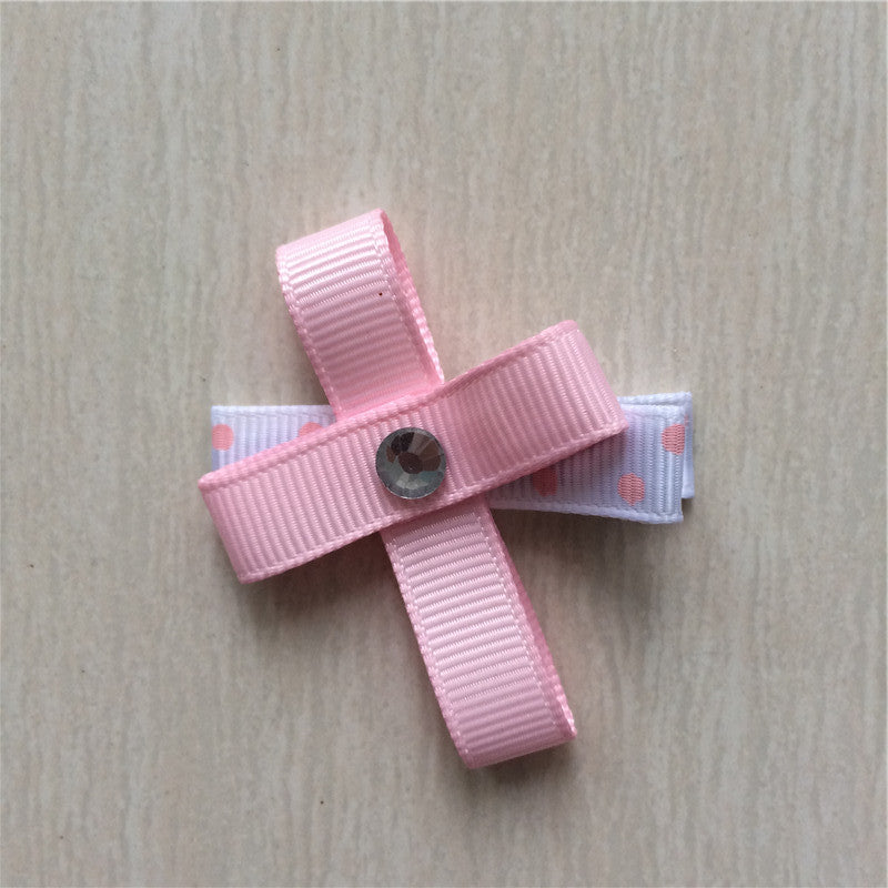 Easter Cross #A Sculptured Hair Clip
