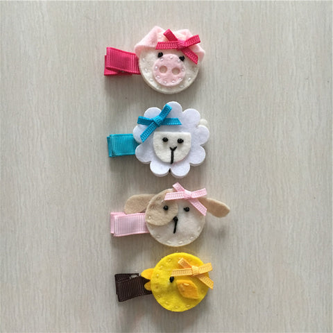 - Felt Farm Animal Set of 4