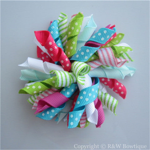 Ice Cream Sweetie Korker Hair Bow