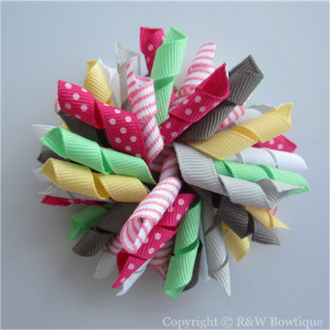 Merry and Bright Korker Hair Bow