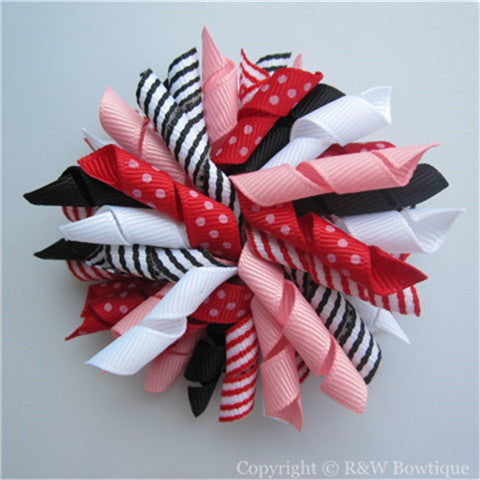 Pretty Poppies Korker Hair Bow