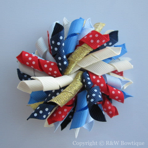 Ready For Fall Korker Hair Bow