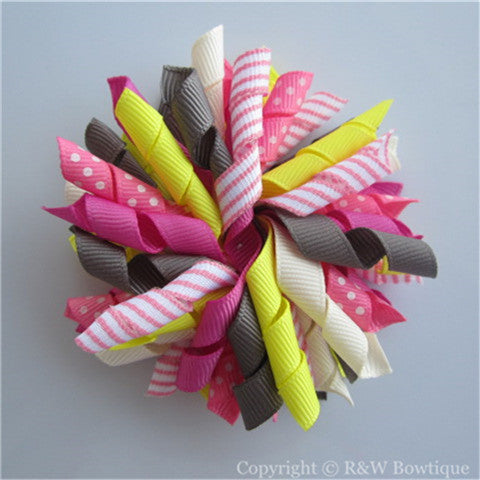 Snow Sports Korker Hair Bow