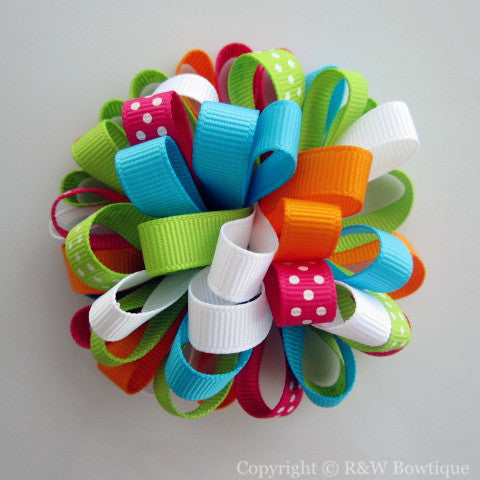 Spring Favorites Loopy Hair Bow