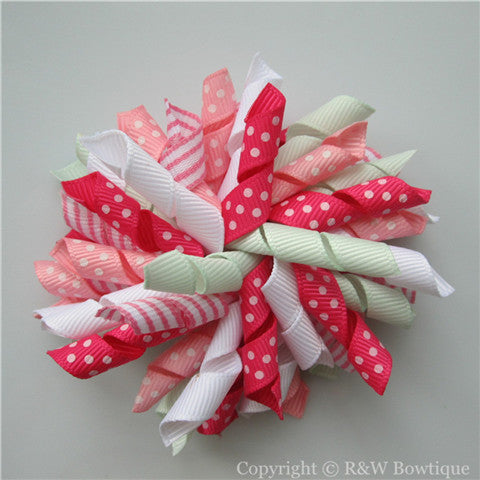 Strawberry Fields Korker Hair Bow