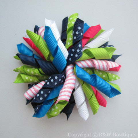 Summer Fun Korker Hair Bow