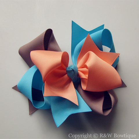 TB005 Large Twisted Boutique Bow
