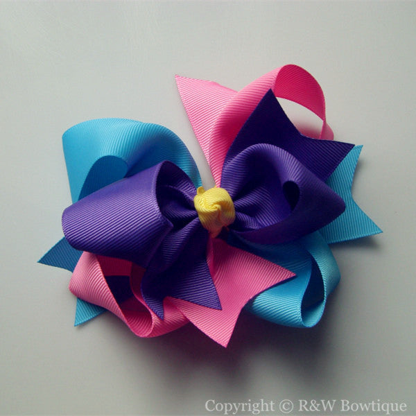 TB008 Large Twisted Boutique Bow