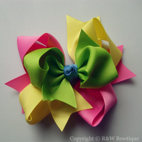 TB009 Large Twisted Boutique Bow
