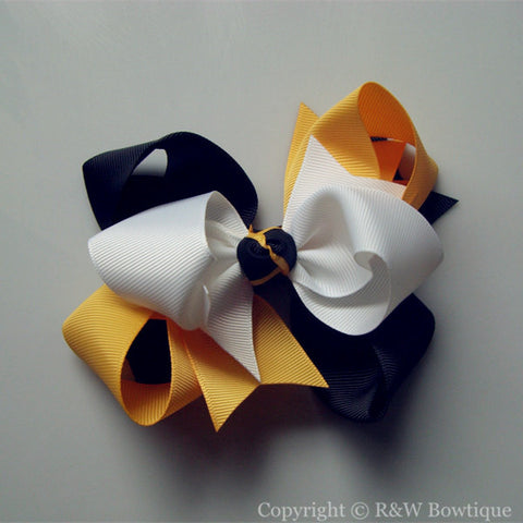 TB010 Large Twisted Boutique Bow