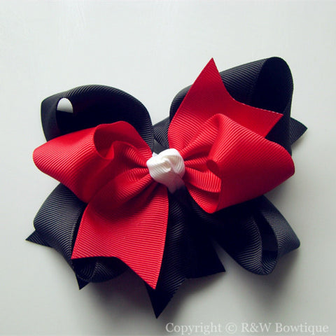 TB014 Large Twisted Boutique Hair Bow