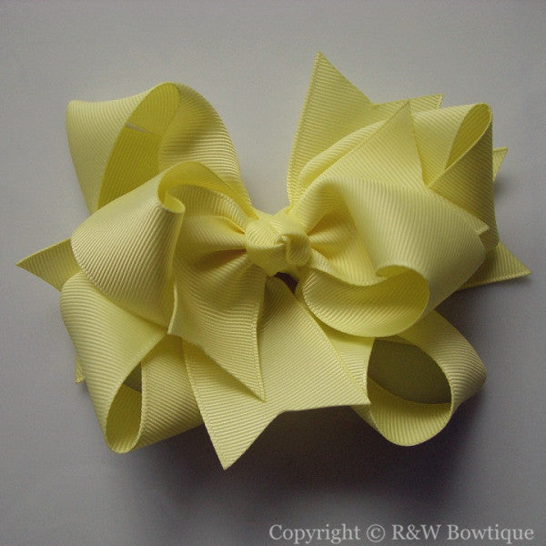 TB031 Large Twisted Boutique Hair Bow