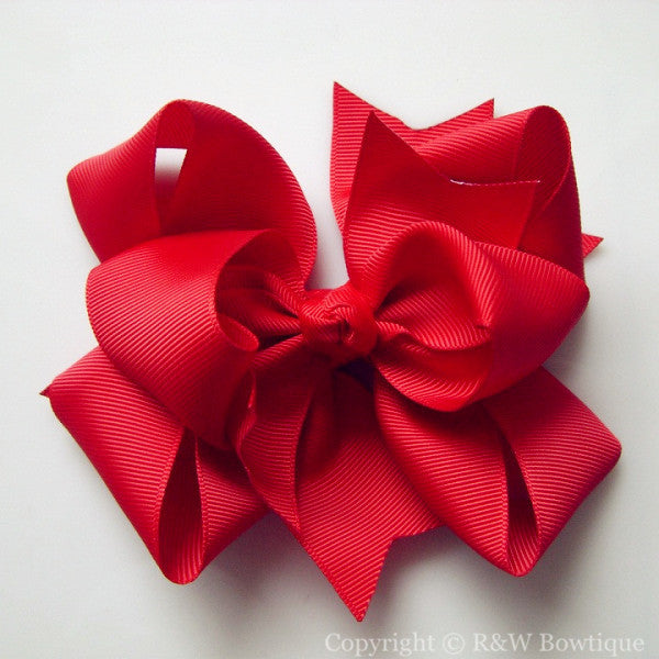 TB034 Large Twisted Boutique Hair Bow