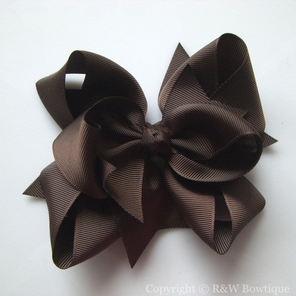 TB035 Large Twisted Boutique Hair Bow