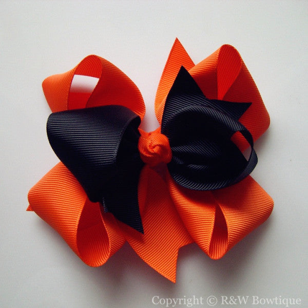 TB036 Large Twisted Boutique Hair Bow