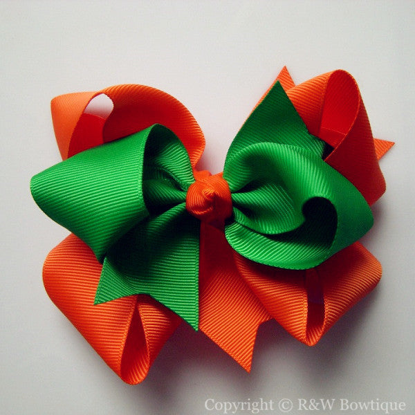 TB037 Large Twisted Boutique Hair Bow