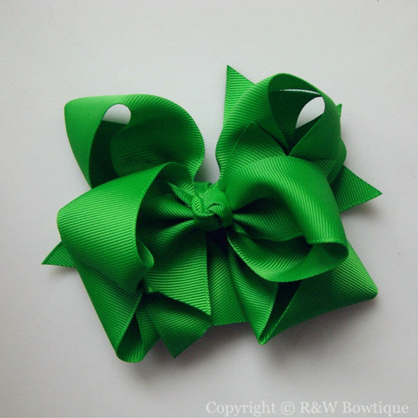 TB044 Large Twisted Boutique Hair Bow