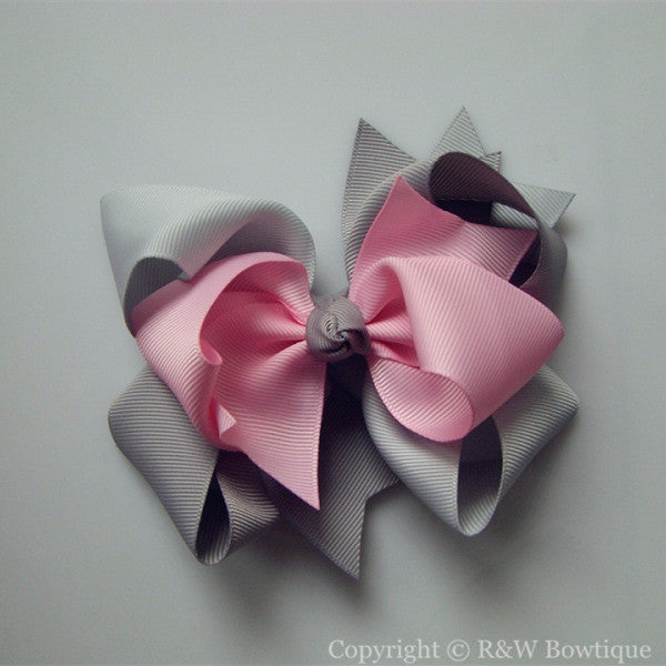 TB045 Large Twisted Boutique Hair Bow