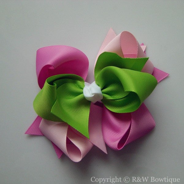 TB058 Large Twisted Boutique Hair Bow