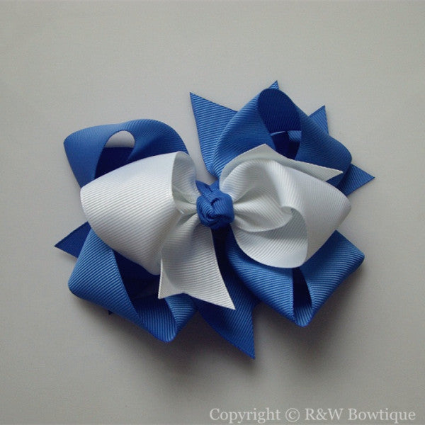 TB062 Large Twisted Boutique Hair Bow