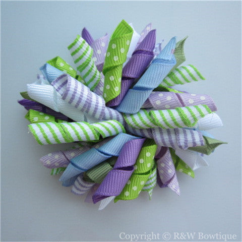 Tea Time Korker Hair Bow