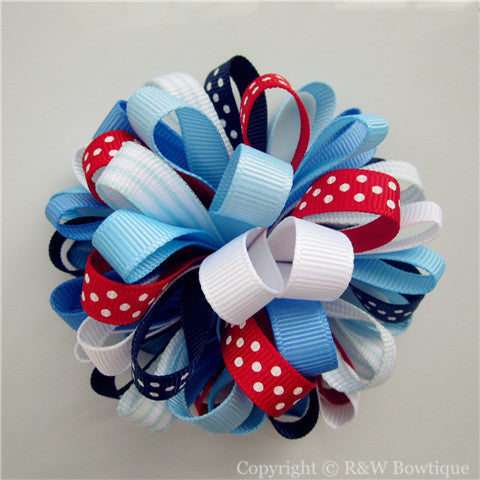 Venice Sweetie Loopy Hair Bow