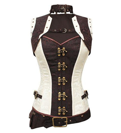 Accentuate Your Appealing Figurine by Wearing a Suitable Steampunk Corset