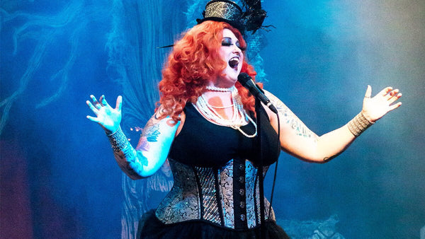 Halloween show in Hiatt New Curvy Waist Training Corset
