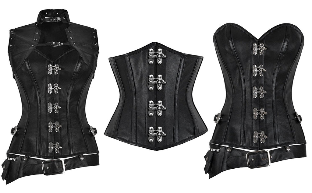 Try Our Genuine Leather Corset Range