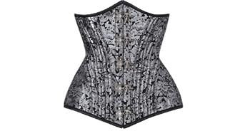 Amplify Your Femininity with Gorgeous Silver Corset