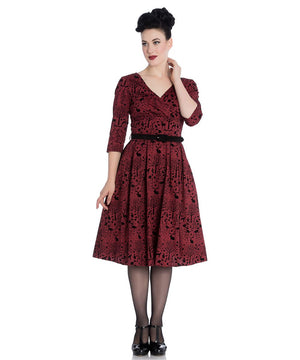 Sherwood Red 50's Dress