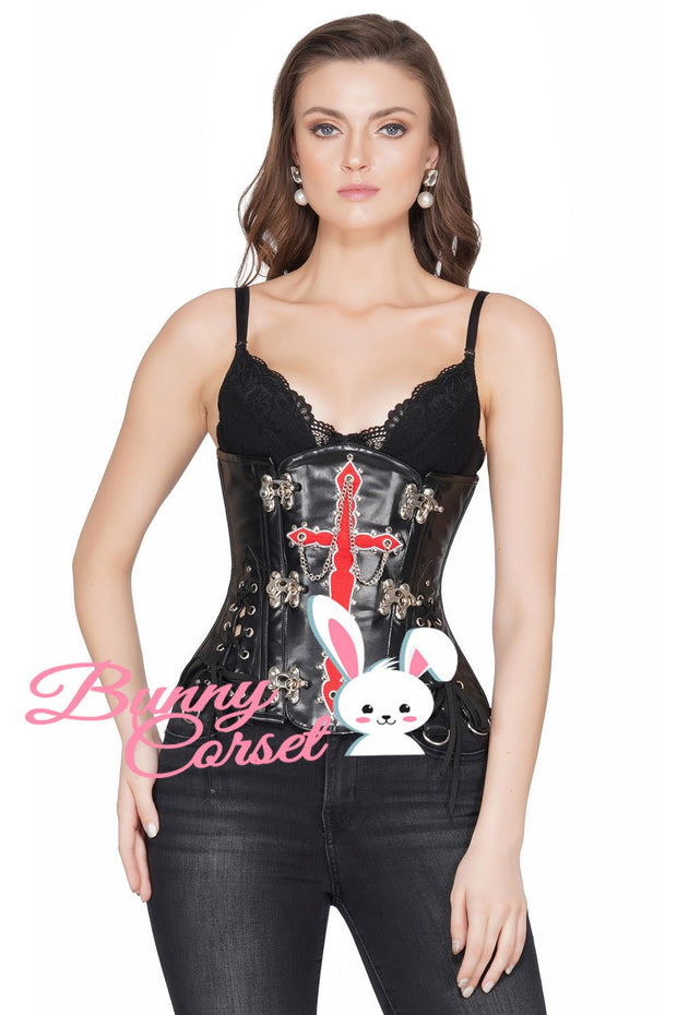 Abbey Custom Made Gothic Steel Boned Underbust Corset