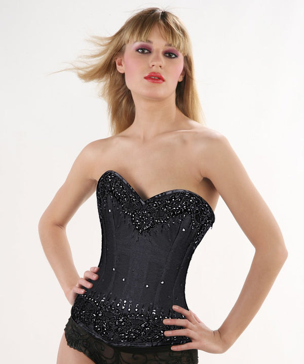 Kennedy Lace Overlay Overbust Couture Corset