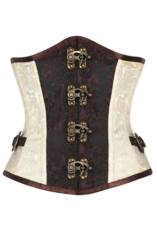 Corset Deal Capita Steampunk Underbust Plus Size Corset - VG LONDON LTD Corsets and Bustiers Shop