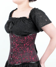 SOLD OUT - Brocade Underbust Steel Bone Corset