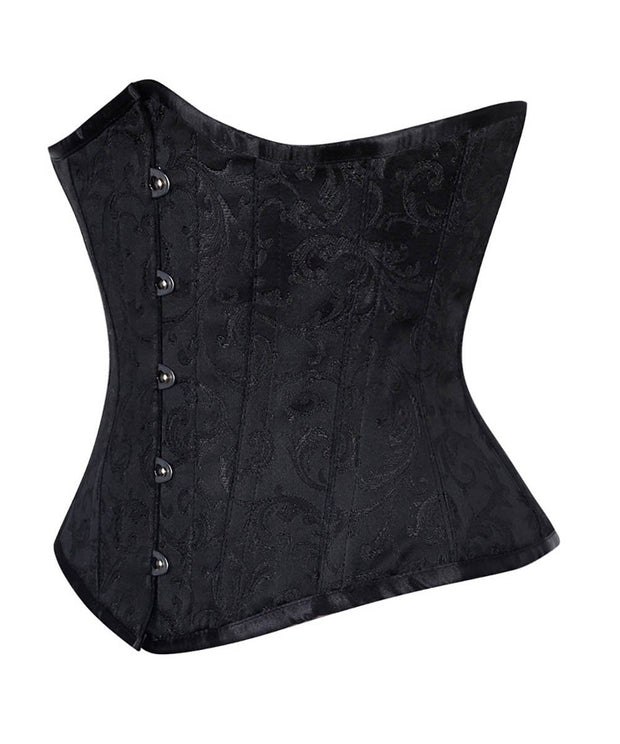 SOLD OUT - Steel Underbust Brocade Corsets