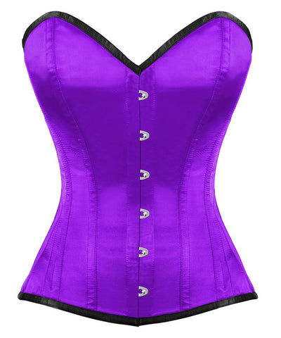 Ashton Overbust Purple Corset