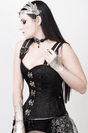 Steampunk Corset, Shop Overbust Corset, Corsets With Straps Corset With Strap