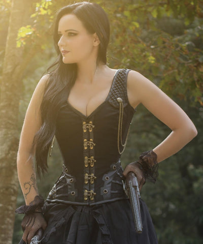 Engleberta Steampunk Custom Made Corset