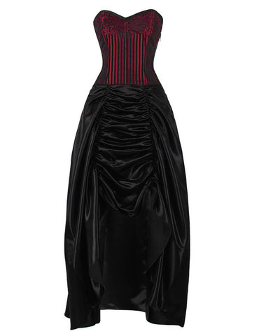 Apsel Gothic Corset Dress