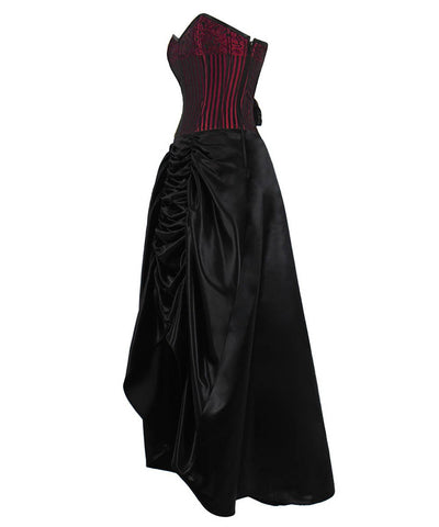 Apsel Gothic Custom Made Corset Dress