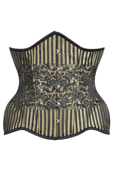 Steampunk Brocade Curvy Waist Training Corset