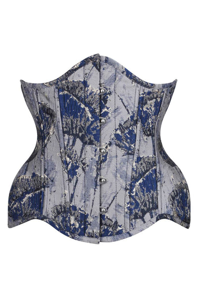 Brocade Steel Boned Curvy Waist Training Corset